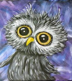 Barn Owl Print ACEO PRINT ACEO print of my Original Painting Gift Idea Limited Edtion of 50 Prints Art Trading Card Miniature Wall Art