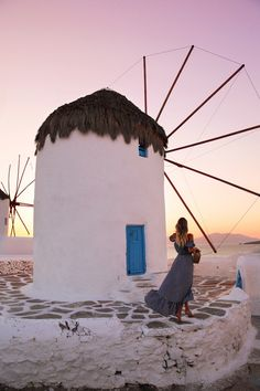 Fighting windmills on Mykonos | Greece http://www.ohhcouture.com/2017/07/monday-update-53/ #leoniehanne #ohhcouture
