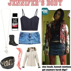 """Jennifer's Body/Megan Fox"" by avaaguadagnino on Polyvore"