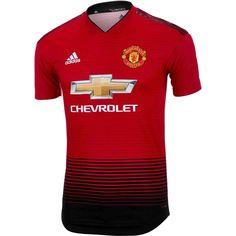 5f5e7af17 adidas Manchester United Home Authentic Jersey 2018-19