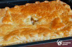 Пирог с курицей и картофелем фото к рецепту 3