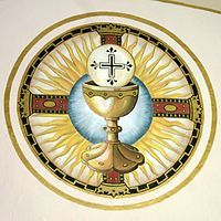Saint Remy Catholic Church Russia Ohio Fresco Eucharistic