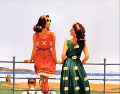Jack Vettriano - Something in the Air