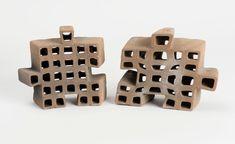 Polybrick 2.0 / Digital BioCeramics © Jenny Sabin Studio Modular Design, Ceramics, Digital, Prints, Studio, Tech, Ceramica, Pottery, Studios