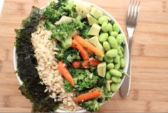 How to Make a Deconstructed Vegan Sushi Bowl