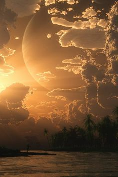 fond d'ecrans hd d'un joli couche de soleil magnifique