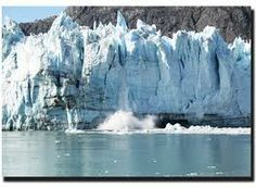 """ALASKA #2: """"Glacier Bay National Park"""" by boat allows you to enjoy the chill and quiet journey through the fingers and inlets of Glacier Bay where you'll see several tidewater glaciers and a variety of wildlife and marine life. Keep an eye out for whales and dolphins."""