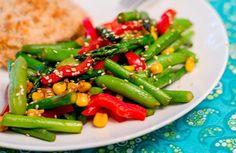 Asian Asparagus And Sugar Snap Pea Stir Fry Recipe - Food.com