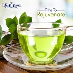 5 day long festivities are over. It's time to rejuvenate yourself. Sip on some soothing #GreenTea