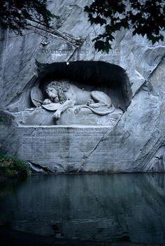 Statue in Switzerland