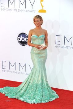 Julianne Hough in Goerges Hobeika at the 2012 Emmys
