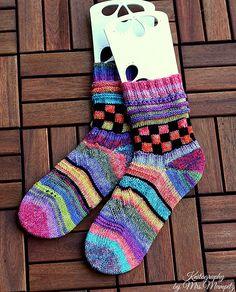 Ravelry: Creativity booster socks pattern by Doreen Blask (Laffrenzen)