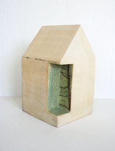 Sculptural ceramic house 12. House sculpture by HouseOfCeramics
