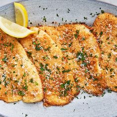 Garlic Parmesan Flounder Will Have You Running To The Fish Market - - Even Ariel would love it. Baked Flounder, Flounder Recipes, Stuffed Flounder, Fish Recipes, Seafood Recipes, Cooking Recipes, Healthy Recipes, Recipies, Chicken Recipes
