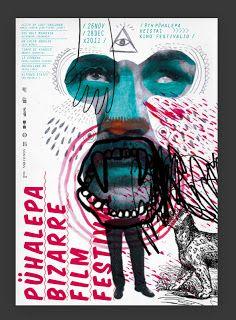 #corse #collage Javier Triviño Murillo – Affiche pour Pühalepa Bizarre Film Festival (2011)