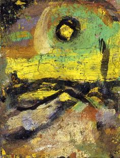 1910-again:  Georges Rouault (1871-1956), Landscape n.d. I have spent a fortnight now scrutinising the same horizon. As in former days when ...
