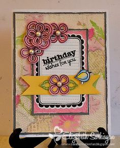 Card by stampitnow using Verve Stamps. #vervestamps