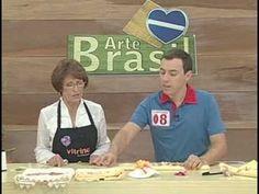 ARTE BRASIL -- ZILDA MATEUS -- TOALHA COM FLOR DE RENDA (11/02/2011 - Pa...