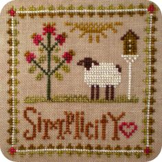 .Little Sheep Virtues Simplicity