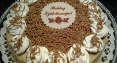 Chestnut cake recipe - in good English