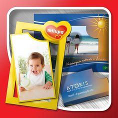Magnetic photo-frames
