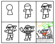 """Using """"guided drawing"""" to develop pre-printing and printing skills"""