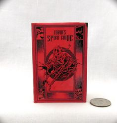 TOBIN SPIRIT GUIDE Illustrated Readable Book in 1:3 Scale Book Ghost Busters #LittleTHINGSofInterest #Accessories