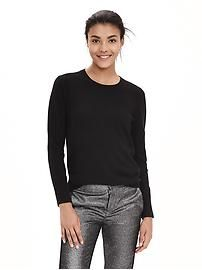 Italian Cashmere-Blend Sweater Pullover
