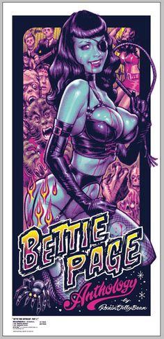 Betty Page Anthology by Rockin'Jelly Bean