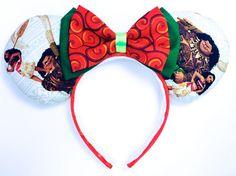 Moana Mouse Ears Handmade  by WisheryEarMakers