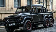 Ini Land Rover Defender Enam Roda, Harganya Rp2,7 M