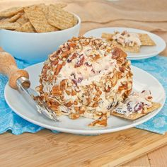 Cranberry Pecan Cheese Ball {Sweet Pea's Kitchen}