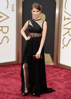 Les robes des Oscars 2014 : Anna Kendrick en J. Mendel | Elle Québec