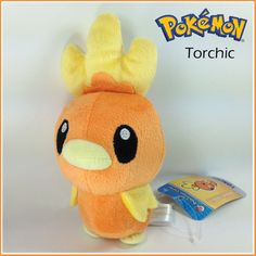 "Pokemon Plush Torchic Soft Toy Nintendo Stuffed Animal Teddy Collectiblle 7"" on eBay!"