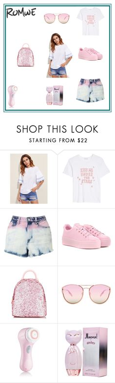 """""""ROMWE"""" by rada-manojlovic ❤ liked on Polyvore featuring COMUNE, Miss Selfridge, Kenzo, Quay and Clarisonic"""