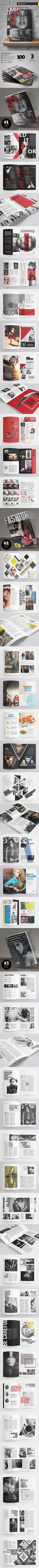 Cultura Minimal Magazine Template | Pinterest | Diseño editorial ...