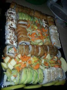 Charola de sushi