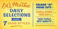 Ed's Market - Webfont & Desktop font « MyFonts