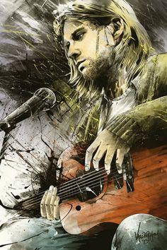 kurt cobain #streetart #graffiti #photography #world #arte #artists #colours #mondo #immagini #graffitiart #artistidistrada #dipinti #murals