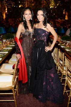 The goddesses Susan Fales Hill and Crystal McCrary. #slay