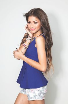 Zendaya on the cover of Girls'  Life Magazine