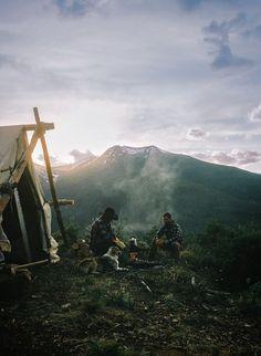 Nature - wild - camping - love