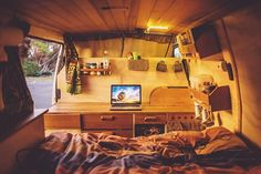 Using instagrams #vanlife tag. Cool ideas