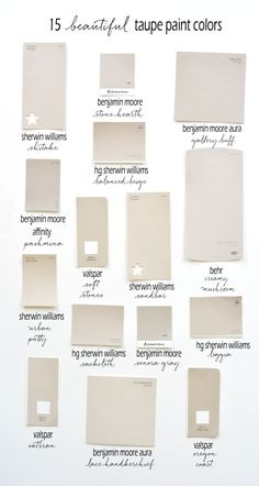 15 Beautiful Taupe Paint Colors – Jessica Baker – Blog