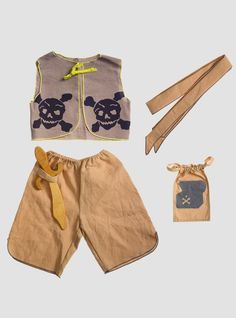 The Pirate Grey/Blue Play Costume