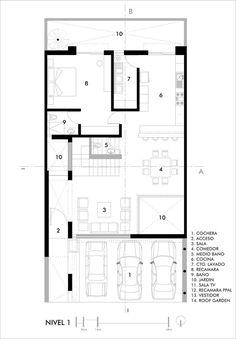 Casa CONTADERO,Floor Plan 01