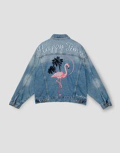 Oversize'owa jeansowa kurtka - must have na jesteń 2016 Na zdjęciu: Pull and…
