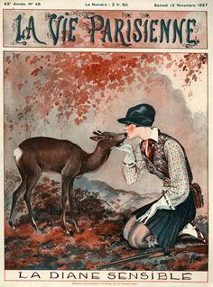 Georges Léonnec (1881 – 1940). La Vie Parisienne, 12 Novembre 1927. [Pinned 1-iv-2015]