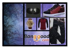 """""""Banggood I/6"""" by almir-camdzic ❤ liked on Polyvore featuring men's fashion and menswear"""