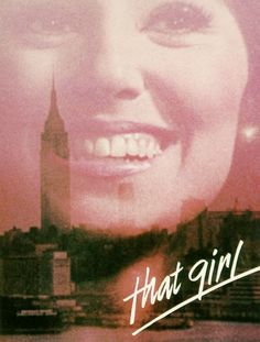 """That Girl"" Marlo Thomas as Ann Marie.when I was young in Detroit I played with Marlo when her Dad would visit her Aunt across the street from my Grandmothers house. Danny Thomas, Marlo Thomas, That Girl Tv Show, Tv Icon, Vintage Television, Old Shows, Tv Land, Vintage Tv, Teenage Years"